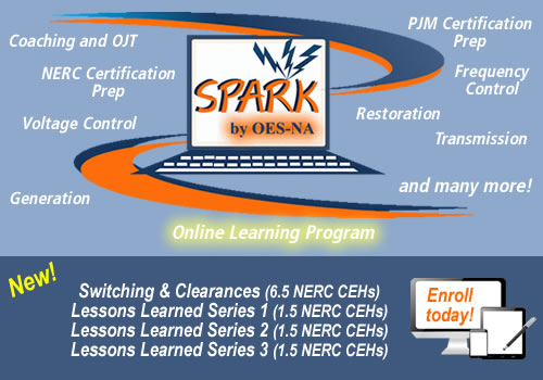Click here to learn about our online courses through SPARK! by OES-NA